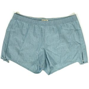 NEW Madewell Womens Side Tie Shorts Size XL